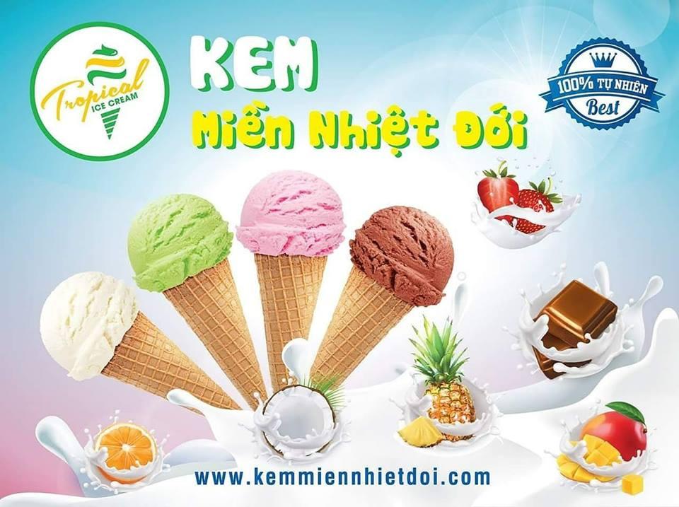 cơ sở sản xuất kem